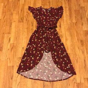 Floral Romper Dress Size 4/5 Nwot 💕
